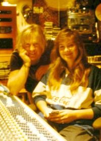 Lisa with Larry Norman