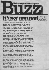 Buzz issue 1