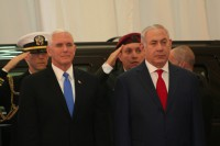 Vice President Mike Pence and Prime Minister Benjamin Netanyahu