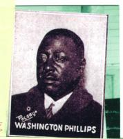 Washington Phillips: Gospel Roots - Remembering the legendary street musician