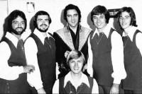 The Imperials with Elvis Presley, 1971