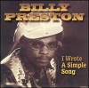 Product Image: Billy Preston - I Wrote A Simple Song