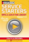 Product Image: iWorship - Service Starters MPEG & Quicktime Library Vol. 1-4