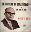 Product Image: Wayne E Oates - The Discipline Of Disillusionment And The Face Of Jesus