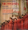 Choir Of Guildford Cathedral, Valerie Masterson, Gillian Knight, Anthony Johnson - Highlights From Messiah (Handel)