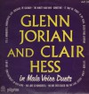Product Image: Glenn Jorian And Clair Hess - Glenn Jorian And Clair Hess In Male Voice Duets