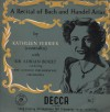 Product Image: Kathleen Ferrier - A Recital Of Bach And Handel Arias (LXT2757)