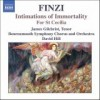 Product Image: Gerald Finzi, Bournemouth Symphony Chorus And Orchestra - Intimations Of Immortality; For St Cecilia