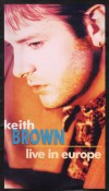Product Image: Keith Brown - Live In Europe