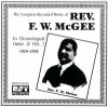 Product Image: Rev F W McGee - The Complete Recorded Works In Chronological Order Vol 2 1929-1930