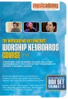 Product Image: Musicademy - Worship Keyboard Course: Intermediate Box Set Vols 1-3
