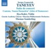 Product Image: Sergey Ivanovich Taneyev, Gnesin Academy Chorus, Thomas Sanderling - Suite de Concert and Cantata: Ioann Damaskin